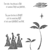 Wise Men from Afar Clear-Mount Stamp Set