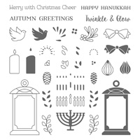 Seasonal Lantern Photopolymer Stamp Set