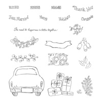 Wonderful Life Photopolymer Stamp Set