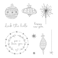 Seasons of Whimsy Clear-Mount Stamp Set