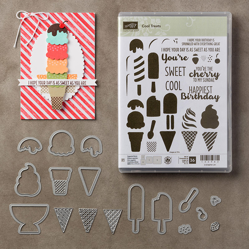 Cool Treats bundle buy from Leonie Schroder Independent Stampin' Up! Demonstrator Australia