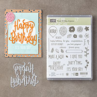 Happy Birthday Gorgeous Photopolymer Bundle