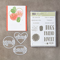 Lovely Inside & Out Clear-Mount Bundle