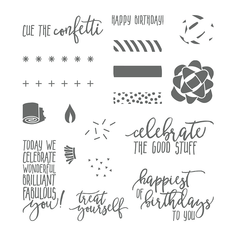 145519 - Picture Perfect Birthday Photopolymer Stamp Set