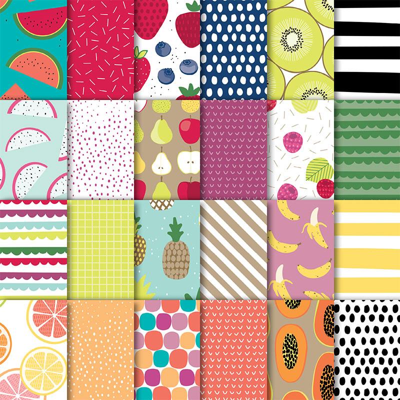 145606 - Tutti-Frutti Designer Series Paper