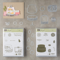 Cake Soirée Wood-Mount Bundle