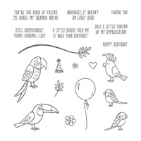 Bird Banter Photopolymer Stamp Set