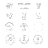 A Good Day Clear-Mount Stamp Set