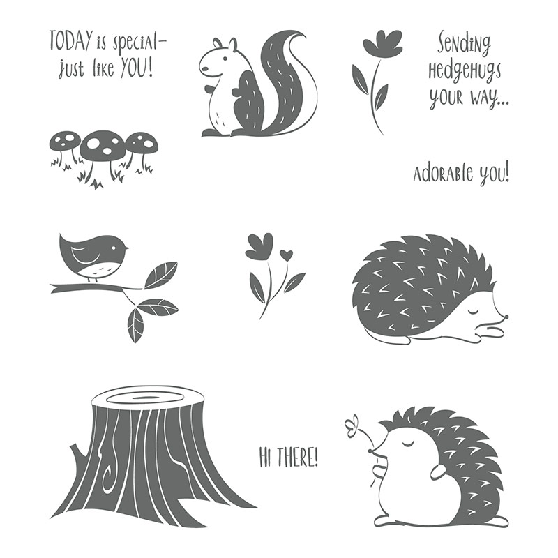 145879 - Hedgehugs Clear Stamp Set