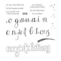 Amazing Congratulations Photopolymer Stamp Set