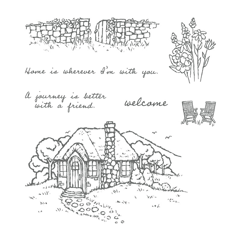 145943 - Cozy Cottage Clear Stamp Set