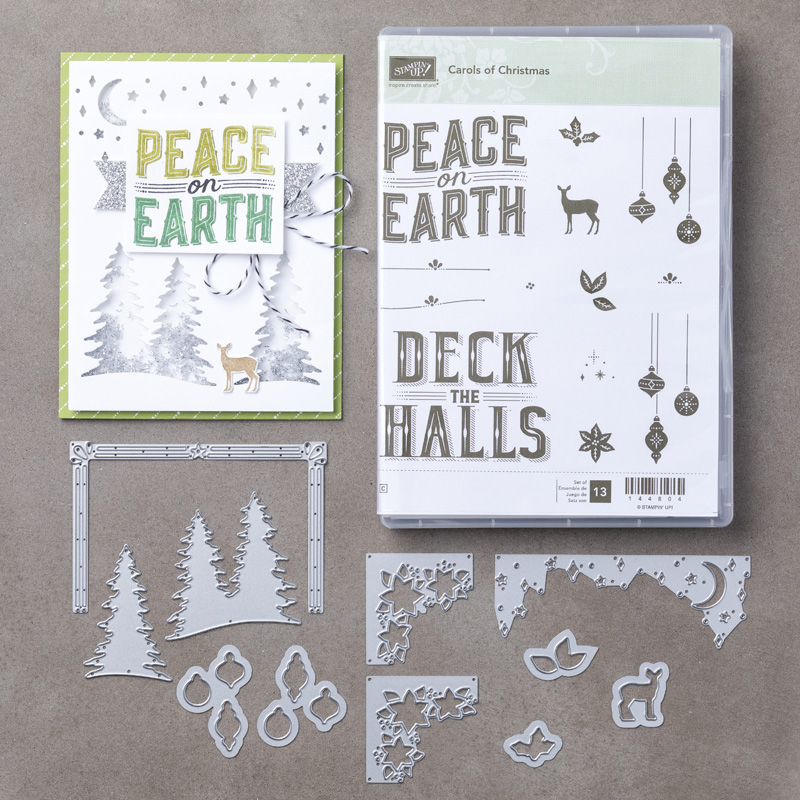 Carols of Christmas bundle - buy now from Leonie Schroder Independent Stampin' Up! Demonstrator Australia