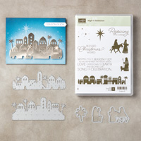 Night in Bethlehem Clear-Mount Bundle