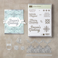 Snowflake Sentiments Clear-Mount Bundle