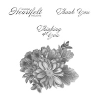 Heartfelt Blooms Clear-Mount Stamp Set
