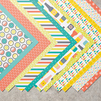 Bubbles & Fizz Designer Series Paper