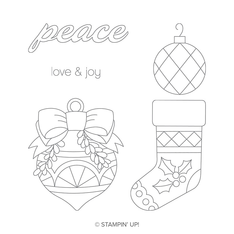 Great Joy Wood-Mount Stamp Set by Stampin' Up!