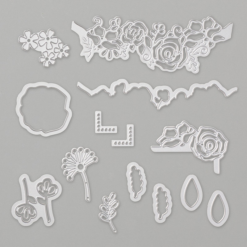 Lovely Flowers Dies By Stampin Up