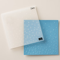 Scattered Sequins Dynamic Textured Impressions Embossing Folder