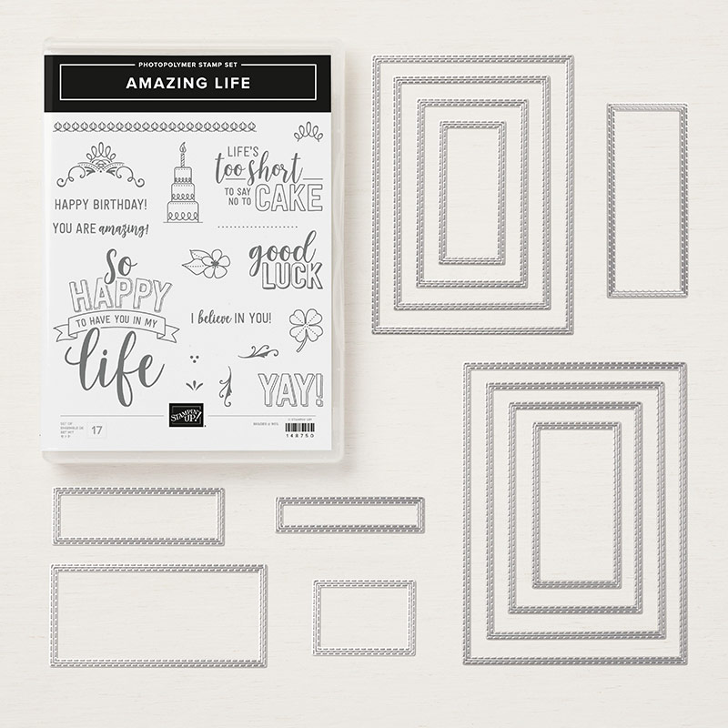 Amazing Life Photopolymer Bundle By Stampin Up