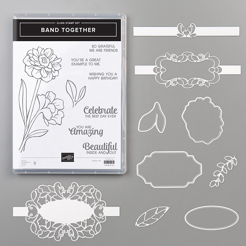 Band Together Bundle By Stampin Up