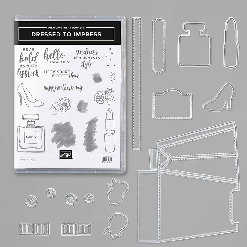 Image result for dressed to impress stampin up